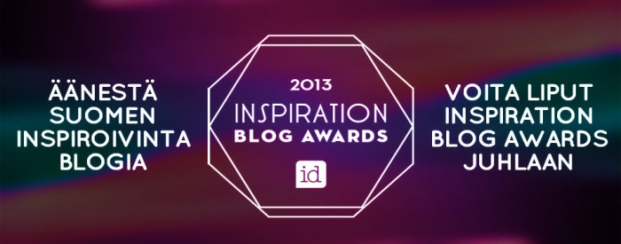 Inspiration blog awards - Life of Silja